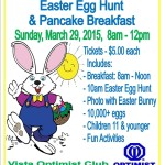 Vista Easter Egg Hunt 03.29.15 - Flyer