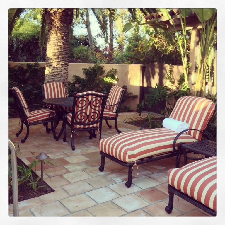 Rancho Valencia Patio